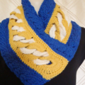 AFL Crochet Supporter Scarf - Support West Coast Eagles in style + Hats/Beanies.