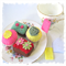 Cupcakes and Slices Felt Food, Teabags