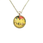 """""""Birds & Flowers 006"""" 