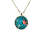 """""""Birds & Flowers 007"""" 