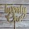 Twenty One Cake Topper - Gold Glitter | 21st Birthday Party Cake Decorations