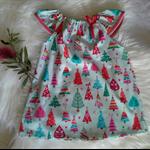 Christmas tree Dress Baby Girls Toddler