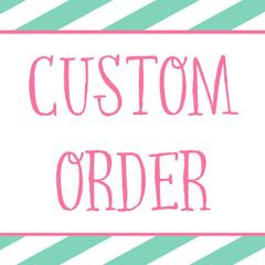 custom listing for Ingrid