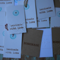 18 Assorted Christmas Gift Tags Handmade with love Baked Goods