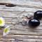 Black Onyx Gemstone & Sterling Silver Earrings