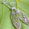 Large Cicada Wings in Sterling Silver