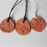Clay Pendant