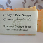 Patchouli & Orange Hand Made Soap, Palm Oil Free, Essential Oil Soap