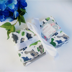 Washable baby wipes,baby washcloths, 1ply set of 10 Eco friendly, Cotton - Boy
