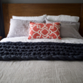 Chunky Merino Wool Bed Runner