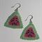 Watermelon Beaded Earrings
