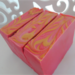 Black Raspberry & Vanilla Hand Made Soap - fresh fruity fragrance