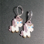 Unicorn Beaded Earrings