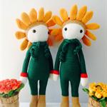 Sunflower Crochet Lalylala (38 cm)