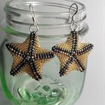Starfish Beaded Earrings