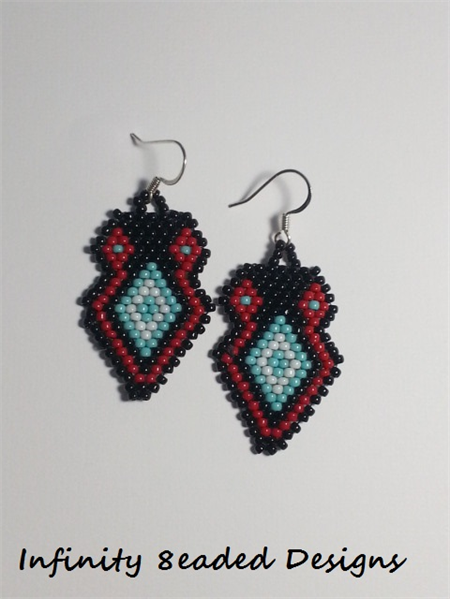 Owl Beaded Earrings
