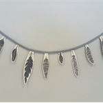 Feather Garland Bunting Decoration