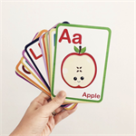 ABC Flashcards - Preschool Learning - Montessori Toys - Toddler Learning -