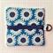Blue Daisy Coin Pouch