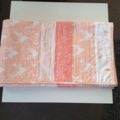 Baby quilts/pink peach/blush