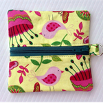 Yellow Floral - Coin Purse