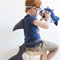 Shark Tail & Fin Set - Under the sea kids party - shark costume - book week