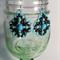 Deep Sea Beaded Earrings