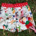 Size 2 Polarbear Christmas Shorts