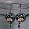 Owl Leverback Style Earrings
