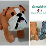 Bulldog Softie - toy - doggy