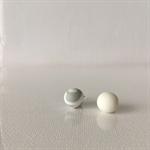 MIXIE MATCHIE - White w/ Grey + White Marble Studs