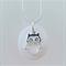 Pebble Necklace : Owl