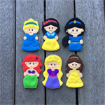 The Princess Collection Finger Puppet Set