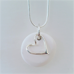 Pebble Necklace : Heart