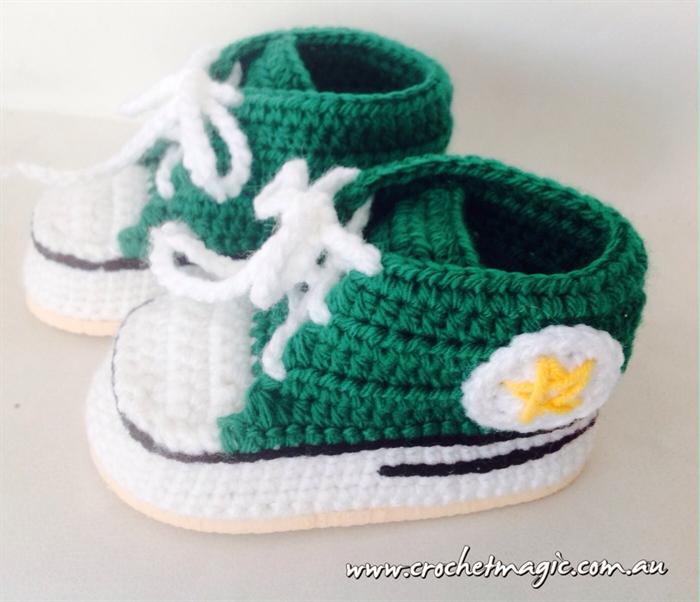 Crochet Converse Shoes Crochet Magic Australia Madeitcomau