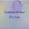 Custom order for Jess - Christmas dresses and bloomers