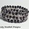 Elastic Bead and Chain Bracelet