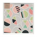 COLOURED CIRCLES - MINI CARD