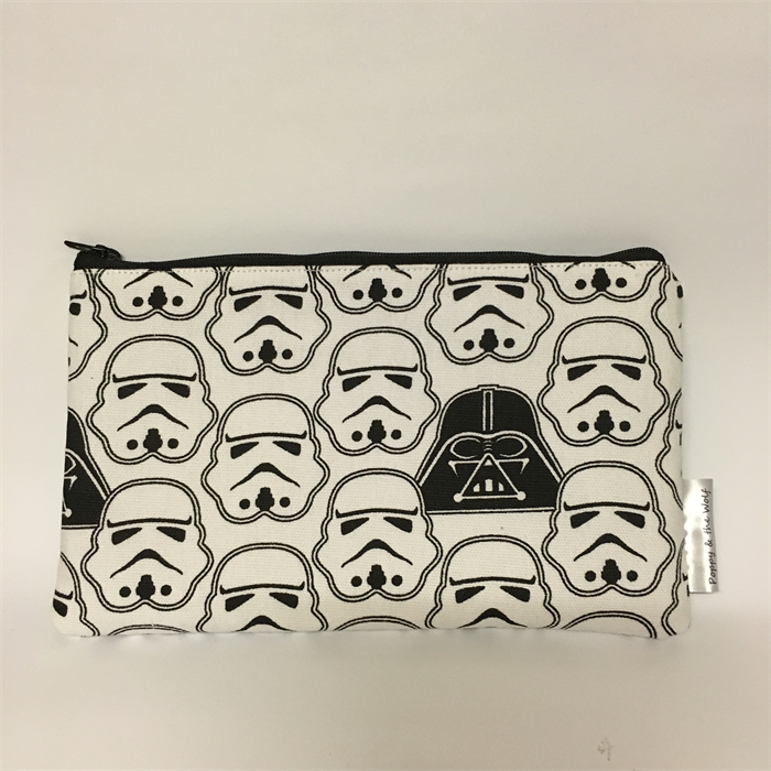 Star Wars Make Up Bag / Clutch Purse | Poppy and The Wolf