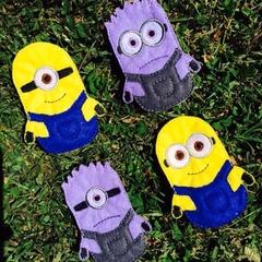Minions (Despicable Me) Finger Puppet Set