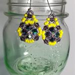 Fancy Beaded Earrings
