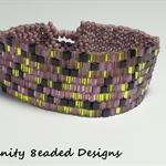 Purple Mix Beaded Bracelet