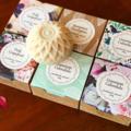 1 Sunflower Soap Favours, Bridal/Baby Shower, Favors, Custom Handmade Soap