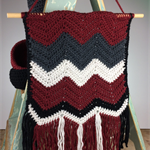 Tribal Wall Hanging | On Sale | Home Decor | Hand Crocheted | Ready to Post