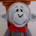 Cooper the little red coup (car) - hand crocheted by CuddleCorner, OOK