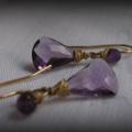 Amethyst Goldfilled Earrings