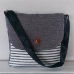 Messenger: Grey and Stripe