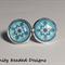 Mandala Stud Earrings
