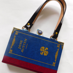 Jane Austen book bag - Pride and Prejudice - Northanger Abbey - Persuasion