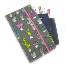 Cactus Travel Wallet / Family Travel Wallet / Travel Organiser